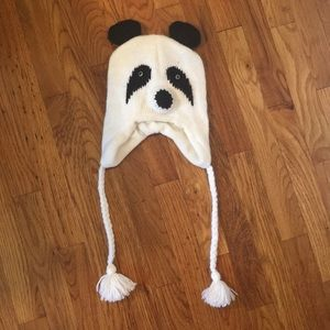 Other - Children's Knit Panda Hat - Never Worn